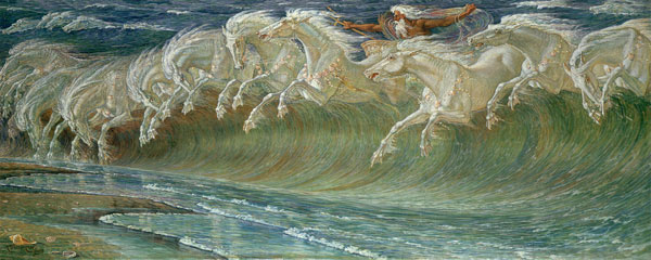 The Horses  of Neptune, Walter Crane
