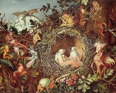 Fairies in a Nest, Fitzgerald