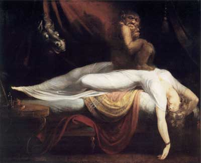 The Nightmare, Fuseli (16X20)