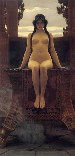 The Delphic Oracle, Godward