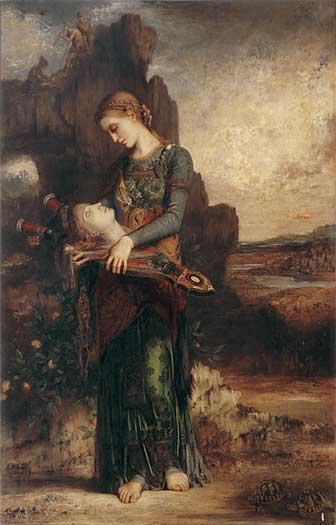Orpheus, Moreau (16X25)
