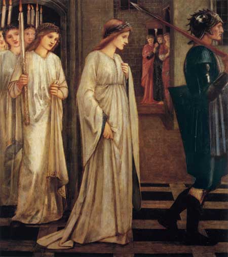 Princess Sabra, Burne-Jones  (16X18)