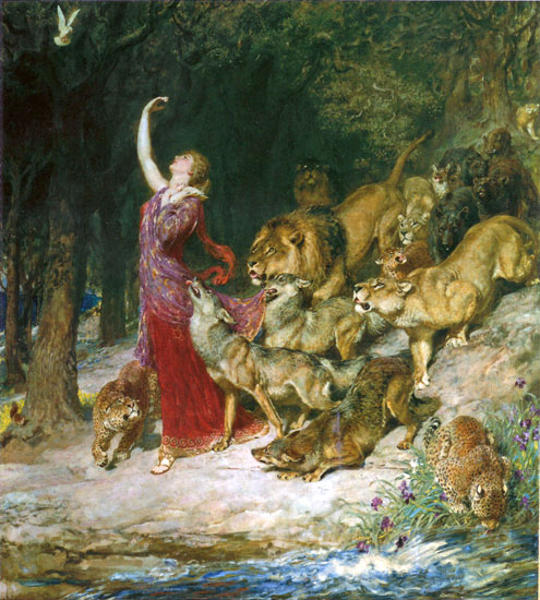 A Song of Peace, Aphrodite (Protection), Briton Riviere
