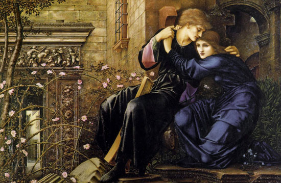 Love Among the Ruins, Burne-Jones (16X24)