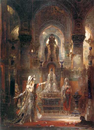 Salome Dancing for Herod, Gustave Moreau