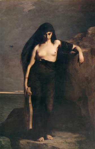 Sappho, Charles-August Mengin