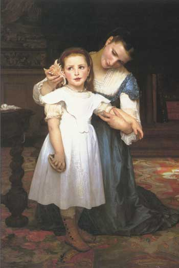 The Shell, William-Adolphe Bouguereau