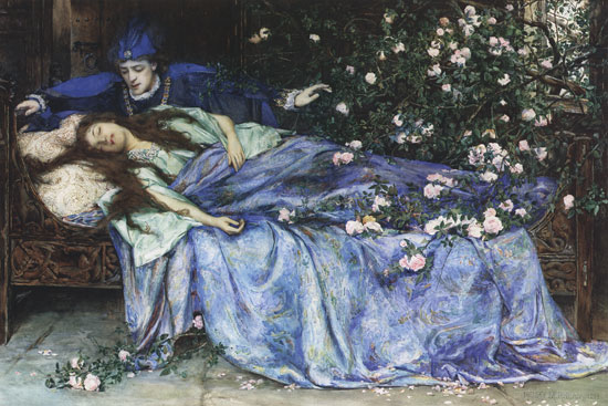 Sleeping Beauty, Henry Meynell Rheam