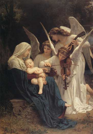 Song of the Angels William-Adolphe Bouguereau