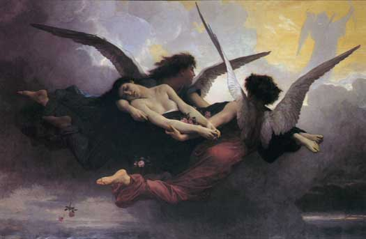Soul Brought to Heaven, Bouguereau