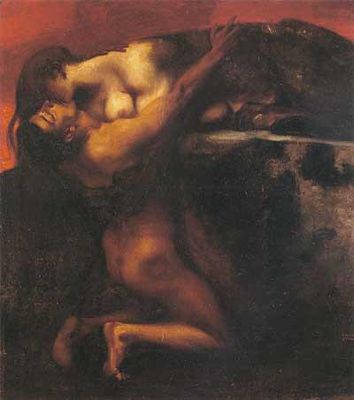 Kiss of the Sphinx, Franz von Stuck