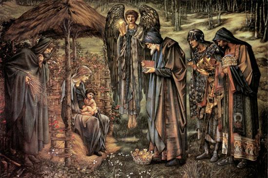 The Star of Bethlehem,  Edward Burne-Jones