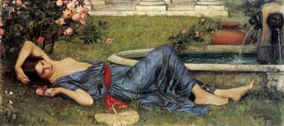 Sweet Summer, Waterhouse (16X35)