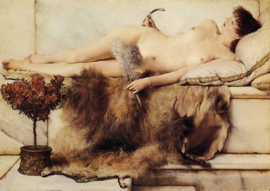 In the Tepidarium, Sir Lawrence Alma-Tadema,