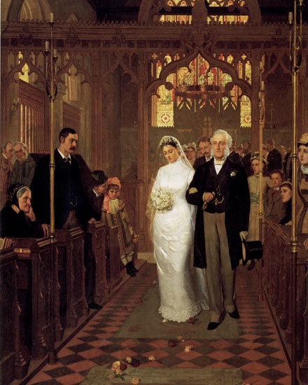 Till Death do Us Part, Edmund Blair Leighton