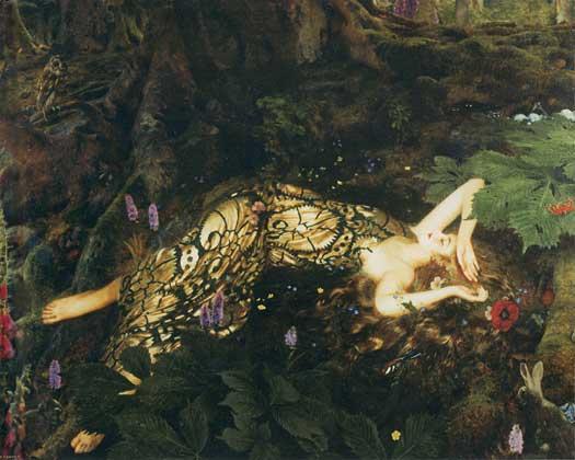 Titania Sleeps, Cowper (16X20)