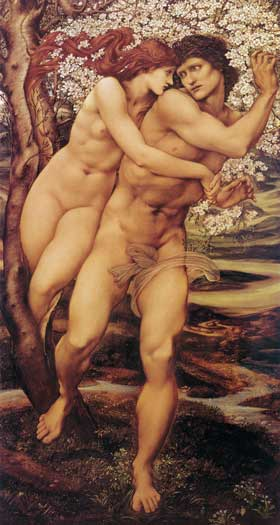 The Tree of Life, Burne-Jones (16X30)