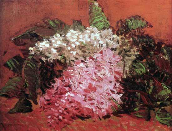 Lilacs, van Gogh (16.75X22)