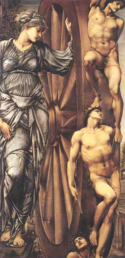 The Wheel of Fortune, Burne-Jones (16X33)