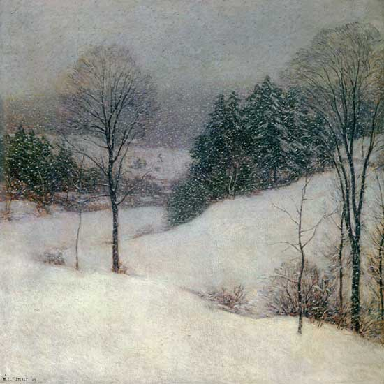 White Veil, Willard Metcalf
